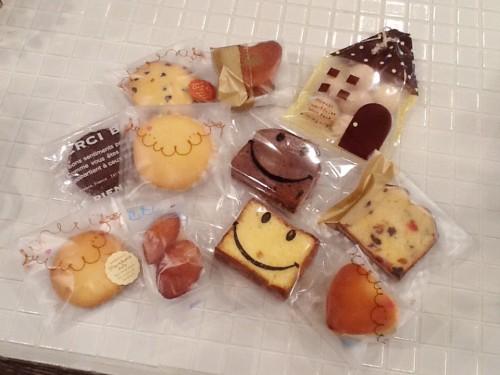 焼き菓子(チャリンコ)