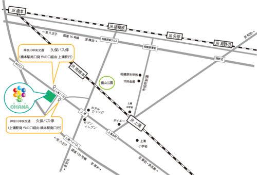 オハナ地図